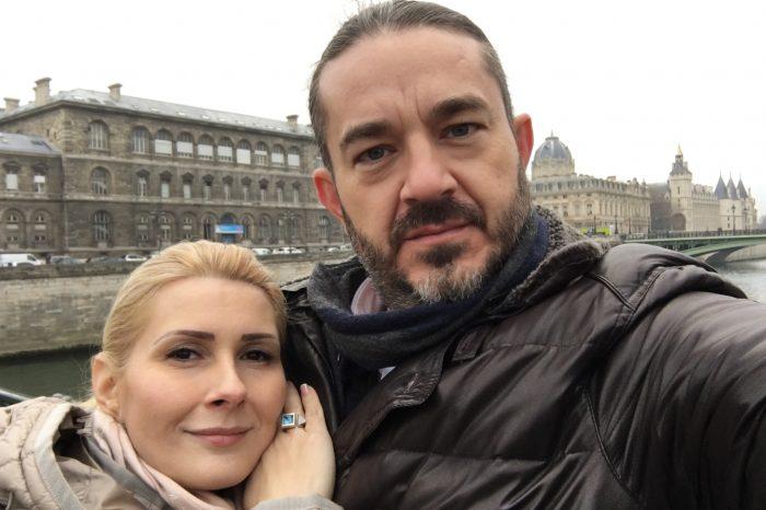 Alessandra Stoicescu si Sergiu Constantinescu au petrecut o vacanta de vis la Paris!
