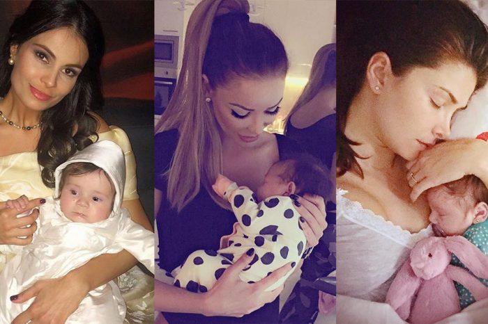 Vedetele care au devenit mamici in 2016: Antonia a adus pe lume al treilea copil, iar Anca Serea pe al cincilea!