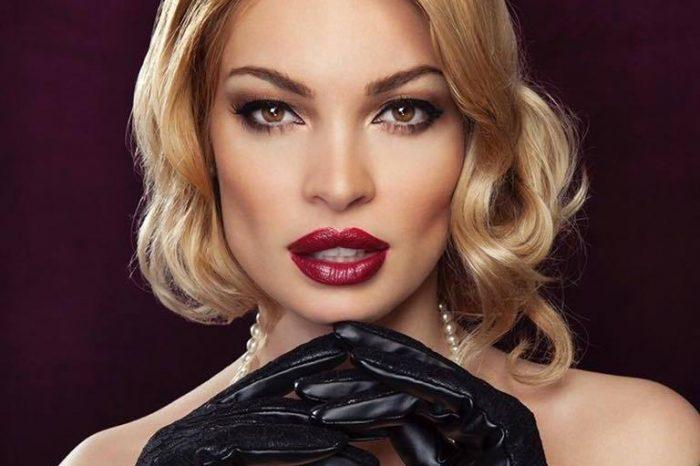 Truc de frumusete de la Valentina Pelinel. Cum scapa modelul de cosuri si roseata in 10 minute