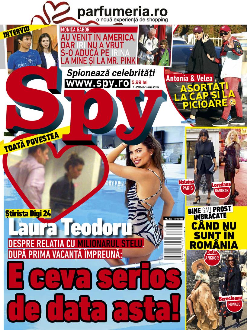 Copertă revista Spy nr. 271