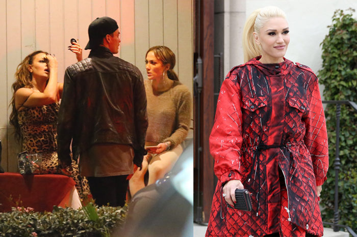 Jennifer Lopez s-a reîntâlnit cu fostul iubit, Casper Smart, in timp ce Gwen Stefani a încurcat biserica cu clubul