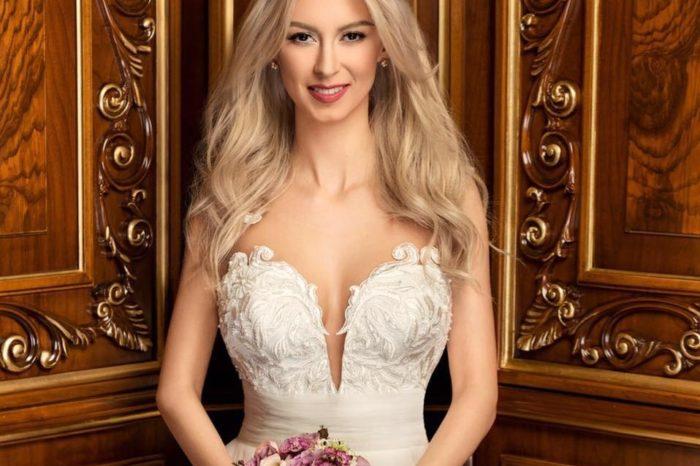 Andreea Balan a plecat sa se marite tocmai in America. Vedeta si-a aratat rochia de mireasa