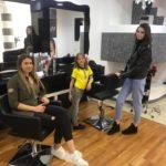 Anamaria Prodan si-a dus copiii la un salon de infrumusetare