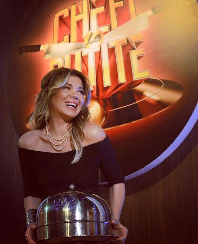 Gina Pistol prezinta emisiunea Chefi la Cutite'' de la Antena 1