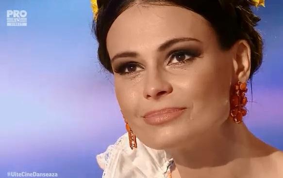 Anca Serea, in lacrimi la 'Uite cine danseaza'! Vedeta a suferit o accidentare grava VIDEO