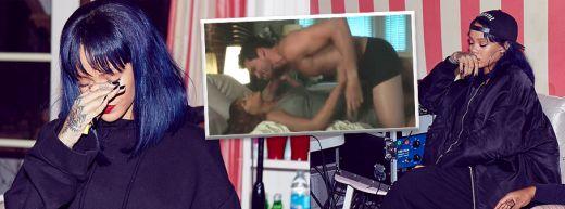 Rihanna, prima reactie dupa ce au aparut la tv imagini cu ea facand SEX cu un barbat! Ce spune vedeta