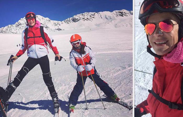 Roxana Ciuhulescu a fost la un pas de primejdie in Austria! Ce a patit alaturi de fiica ei