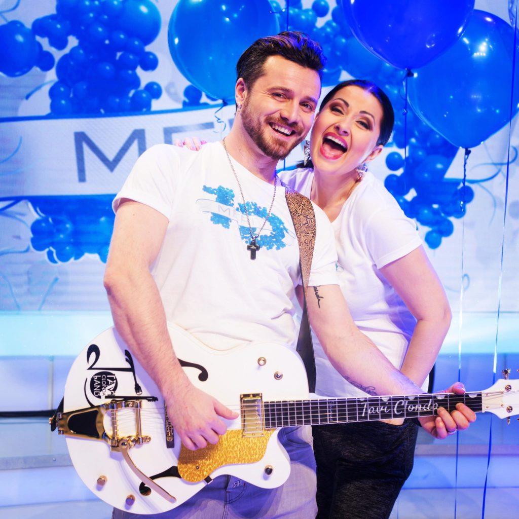 Gabriela Cristea si Tavi Clonda vor deveni parinti la finalul anului