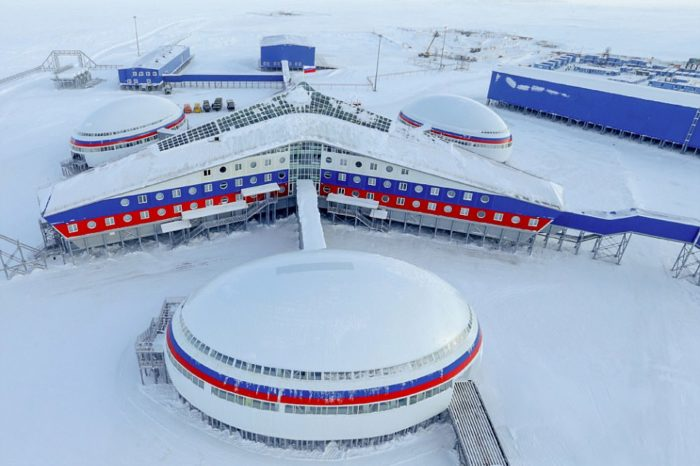 Rusia si-a construit o baza militara gigant in regiunea arctica! Care e scopul acesteia si cum arata in interior
