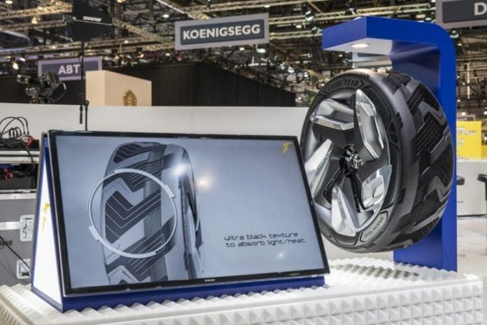 Asta e anvelopa care produce curent. Ideea apartine unui brasovean si sporeste incredibil de mult autonomia unei masini electrice VIDEO