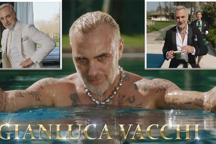 Gianluca Vacchi loveste din nou! Imagini senzuale cu milionarul italian in piscina, debordand de erotism!