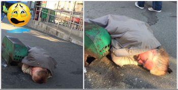 Povestea emotionanta a femeii care doarme in statia de la Piata Domenii! A fost profesoara si sotul a dat-o afara din casa