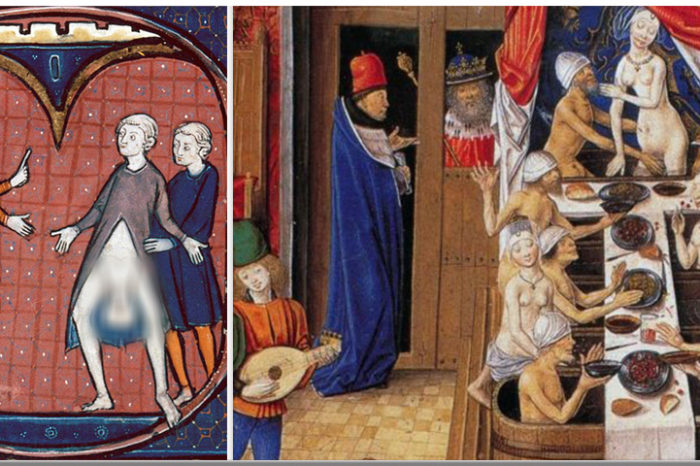 Sexul la romani, în Evul Mediu: boierii făceau orgii, unii voievozi erau homosexuali, iar poporul era pedepsit în numele moralei creştine