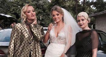 Oana si Razvan Mihet s-au distrat pe cinste la nunta! Delia si mama ei au cantat pentru invitati VIDEO