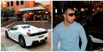Un milionar si-a parcat bolidul de 200.000 de lire in fata unui tribunal! Cum a ajuns masina sa fie CASATA