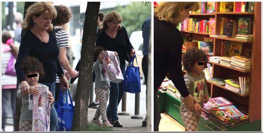 Maria Basescu e o bunica model si nepotica ei, Sofia, e o superbitate! Ce mare a crescut