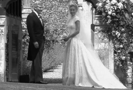 Pippa Middleton s-a casatorit! A fost o mireasa superba. Cum a aratat rochia ei VIDEO