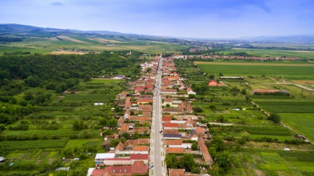 Orasul de la tara: comuna cea mai dezvoltata din Romania, unde pretul unei case depaseste 30.000 de euro