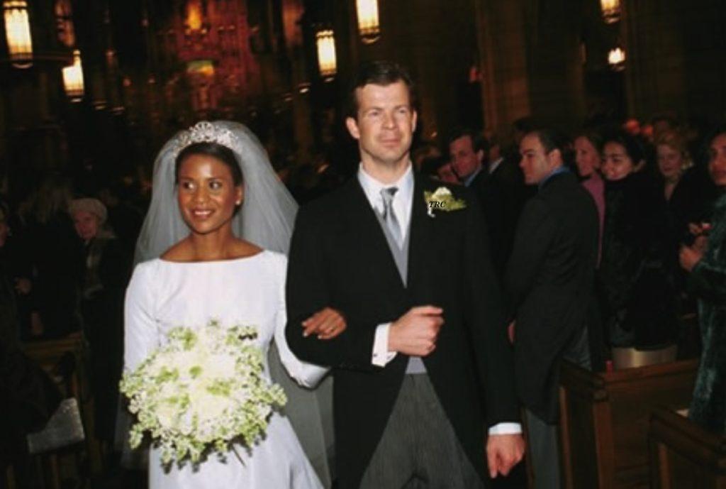 Printul Nikolaus Mari s-a casatorit, in 2000, cu Angela Gisela Brown, designer de moda de origine afro-panameza