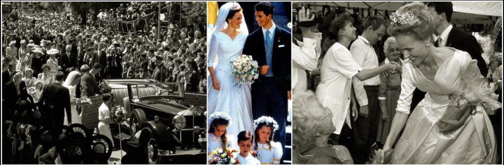 Atunci cand are loc o nunta in Familia Regala, toti locuitorii micutei tari celebreaza momentul iesind pe strazi pentru a fi alaturi de cuplul regal