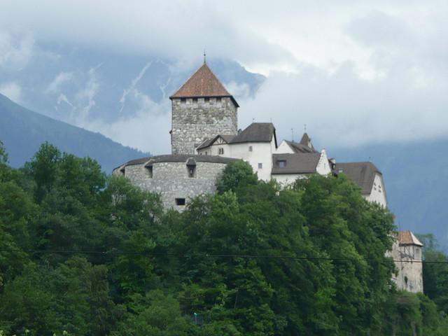 Palatul resedinta al Familiei Regale se afla la Vaduz