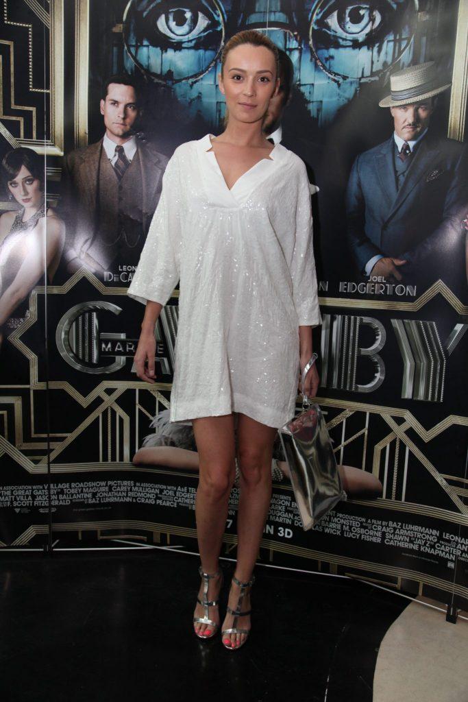 Diana Dumitrescu 2017 rochie alba