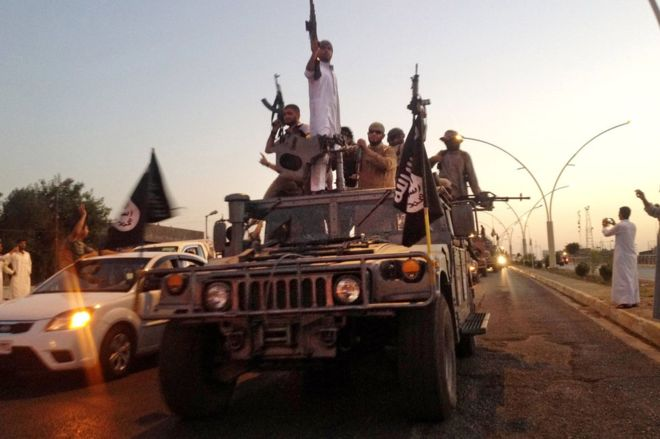 Luptatorii din Statul Islamic
