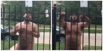 IREAL! Un barbat a fost gasit gol-pusca pe strada. Si-a taiat singur penisul. Ce s-a intamplat cand a venit politia VIDEO