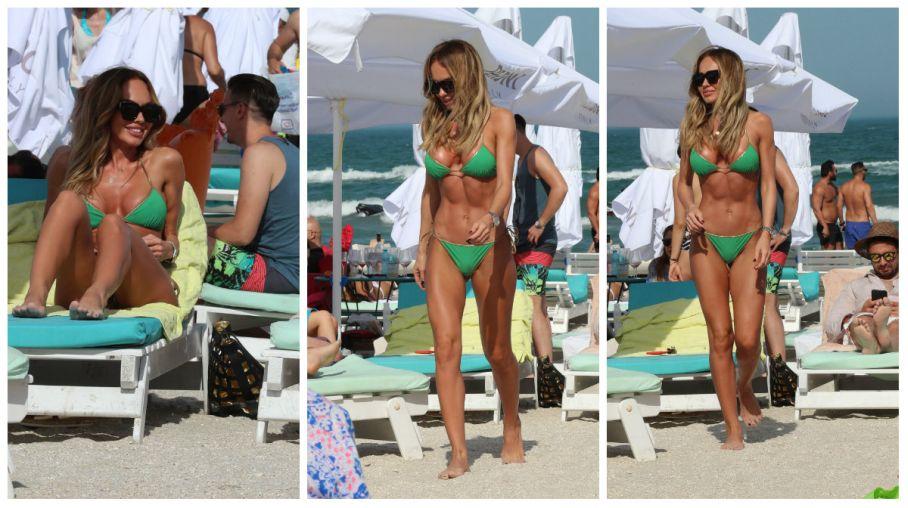 Orlanda lui Alin Cocos a incins plaja! Cat de sexy poate fi blondina