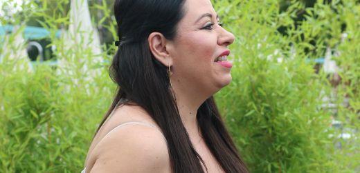 Oana Roman, aparitie rusinoasa la un eveniment! A venit ca de la piata, cu o rochie prea decoltata si papuci roz FOTO