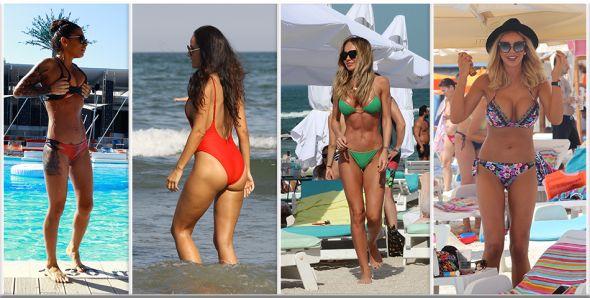 Ele sunt cele mai SEXY vedete de la noi care au incins plaja! Cum arata in costum de baie EBA, Antonia, Bianca, Catinca sau Cristina ICH! Nu mai dormi la noapte daca le vezi...