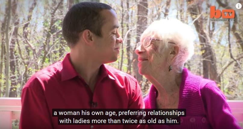 cuplul cu cea mai mare diferenta de ani din lume