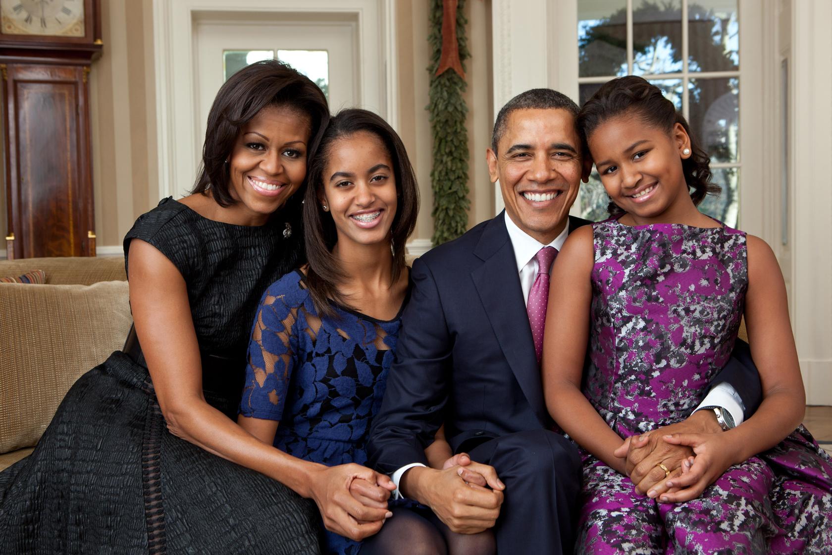 Michelle Obama este casatorita cu Barack Obama din 1992 si au impreuna doua fiice