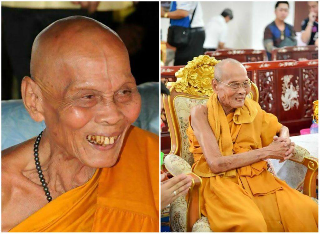 Calugarul budist care zambeste, desi e mort de un an
