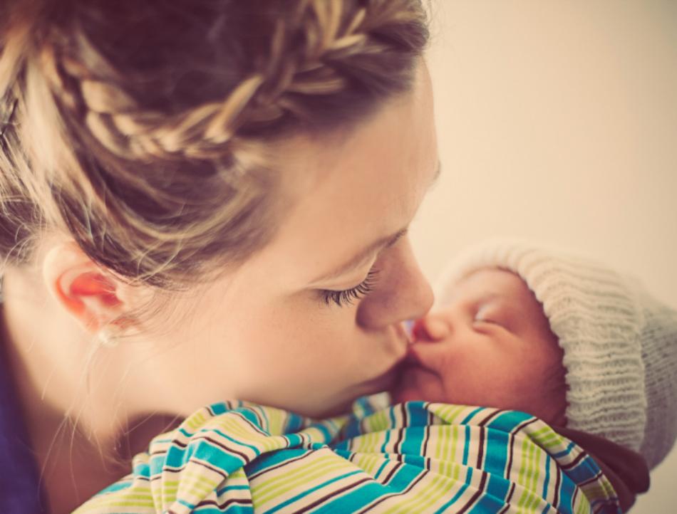 Si-a sarutat bebelusul de noapte buna, dar a doua zi s-a ingrozit