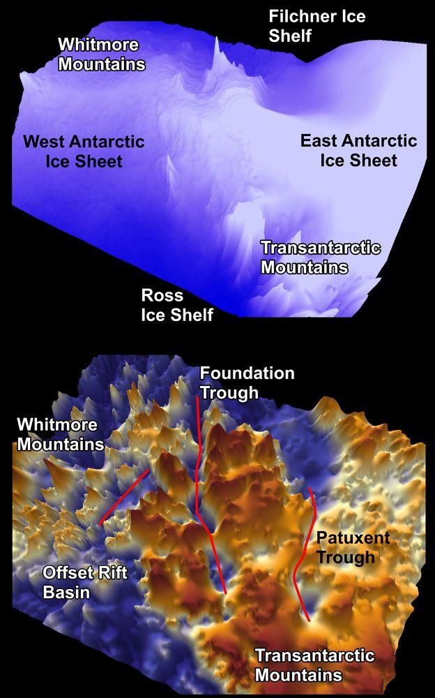 Descoperire socanta in Antarctica! Ce au gasit specialistii sub stratul urias de gheata