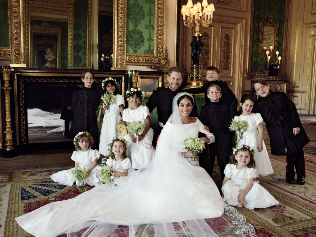 Au aparut pozele oficiale de la Nunta Regala 2018!
