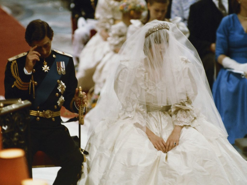 Camilla Parker a participat la nunta Printesei Diana cu Charles
