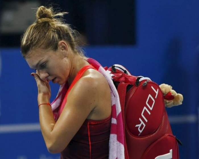 Clipe grele pentru Simona Halep. S-a accidentat grav si poate sa piarda turneul