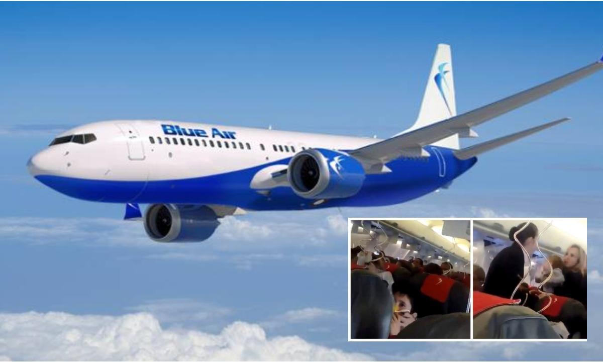 Aeronava Blue Air, aterizare de urgenta la Bratislava