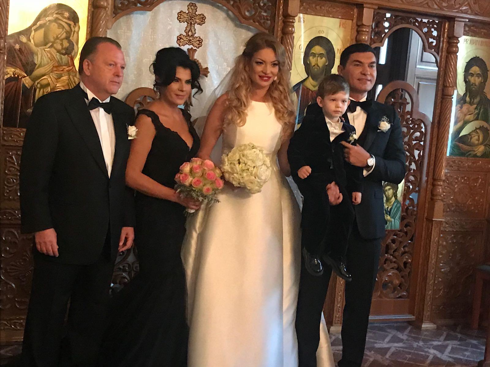 Cine a platit nunta lui Cristi Borcea. Sotul Valentinei Pelinel nu a scos un ban din buzunar