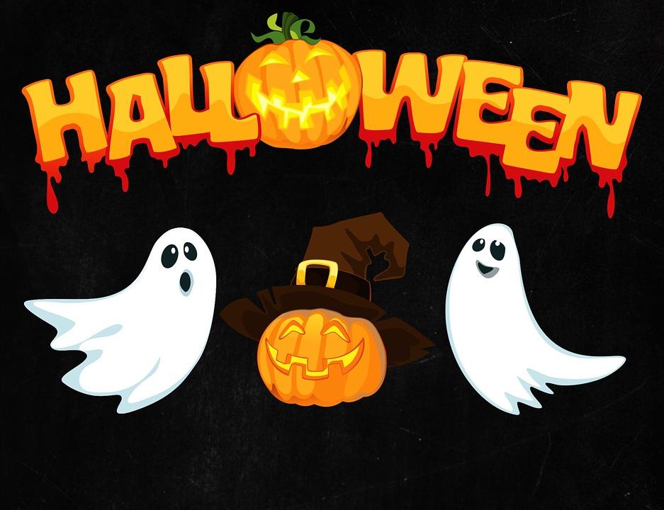 Masti de Halloween de colorat