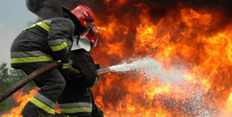 Panica in Sibiu! Sase persoane au ajuns la spital in urma unui incendiu puternic