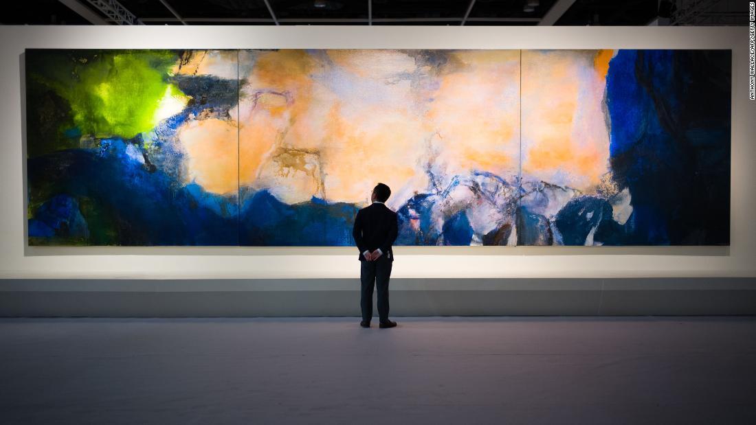 Pictura care valoreaza 65 de milioane de dolari. Ce reprezinta