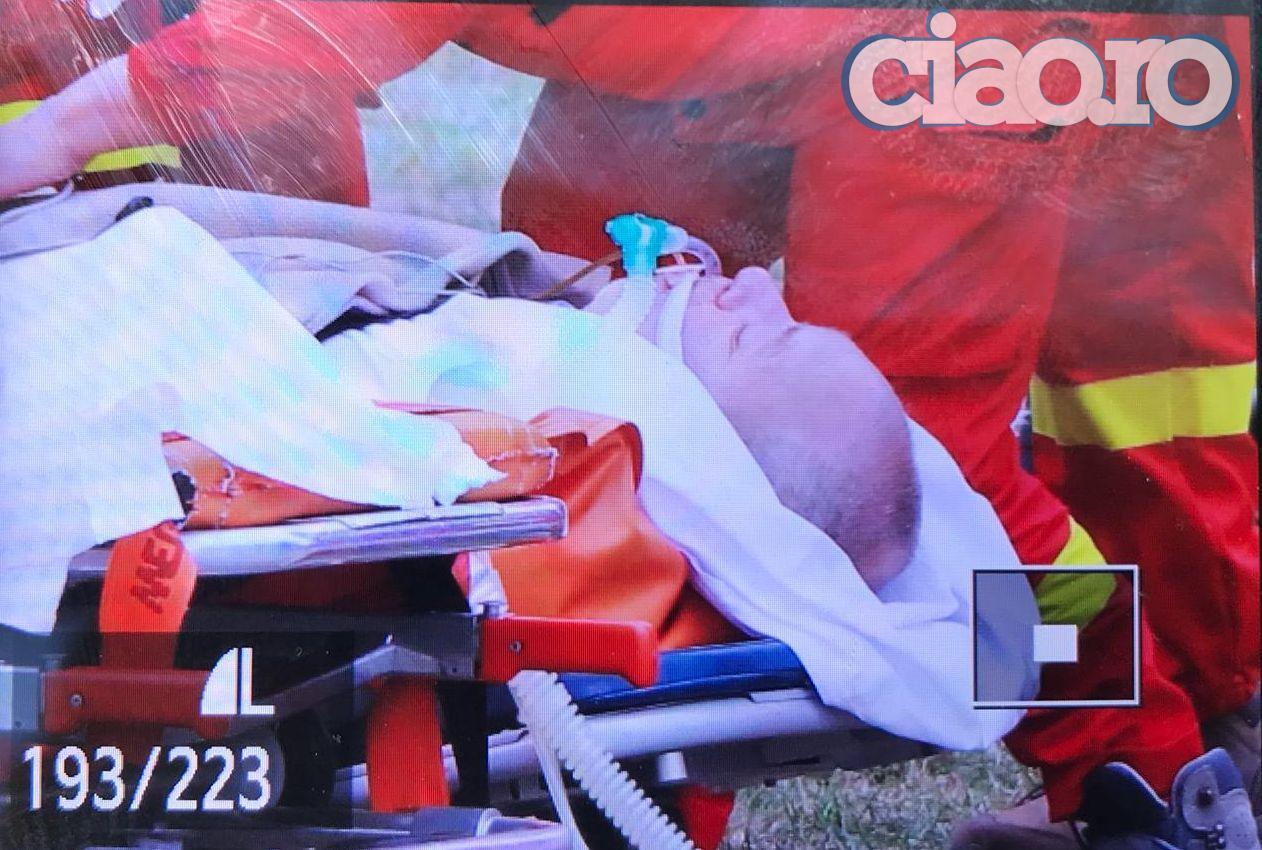 Florin Busuioc, transferat cu elicopterul la Spitalul Fundeni din Bucuresti. Primele imagini cu el FOTO + VIDEO