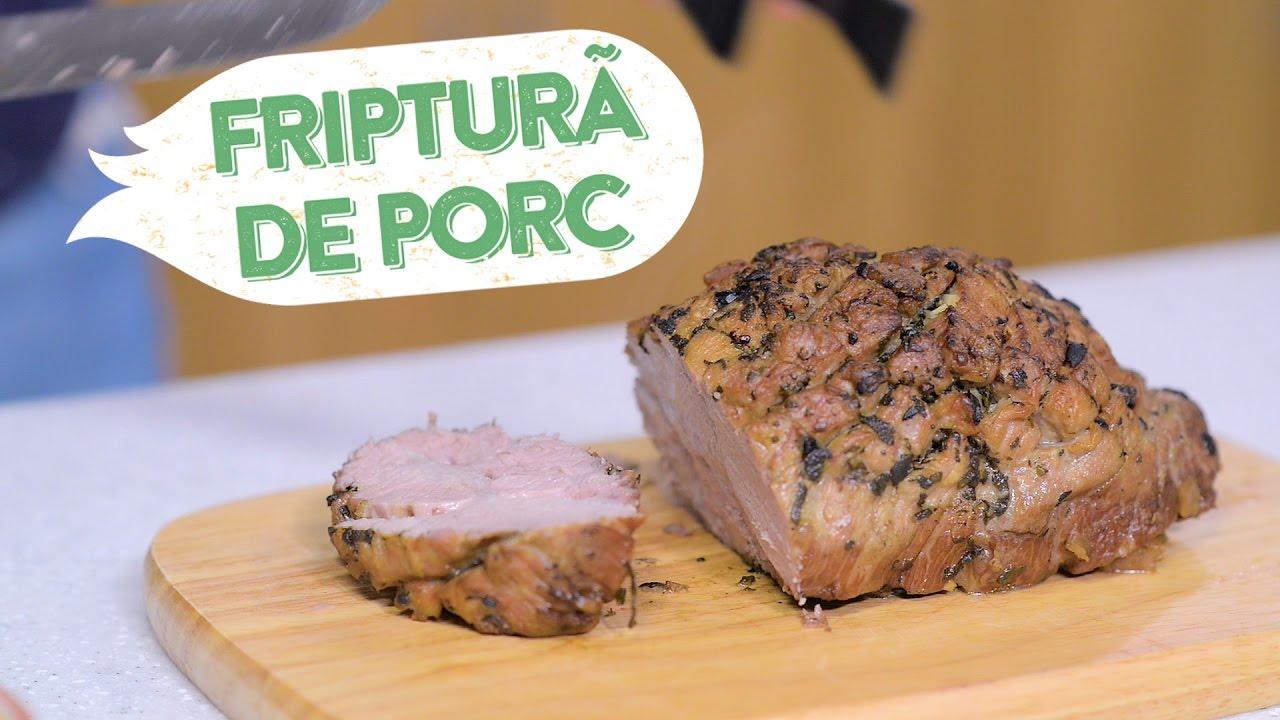 Friptura de porc, reteta pentru masa de Craciun!