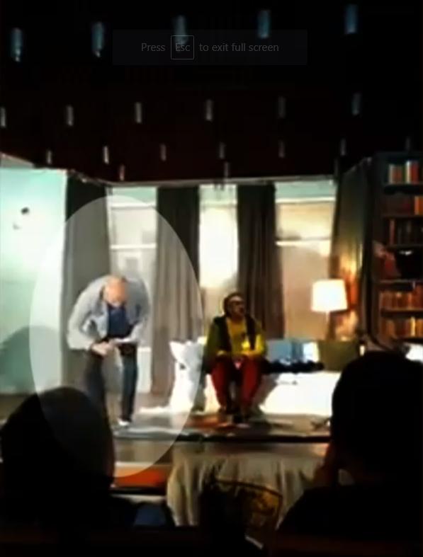 Vezi imaginile de la spectacolul de la Craiova, unde Florin Busuioc a suferit infarctul