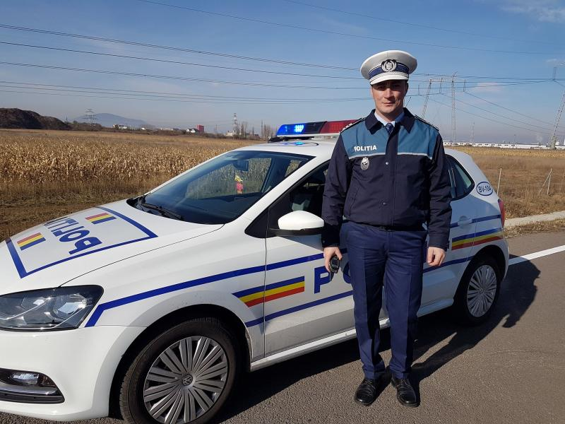 Celebrul politist Godina a calcat stramb