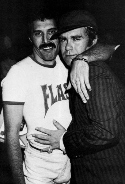 Elton John, Freddie Mercury