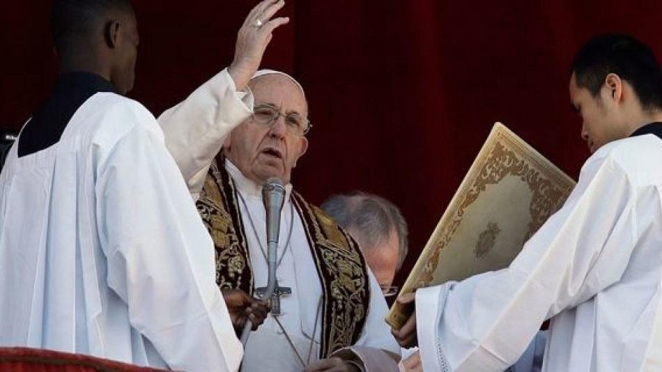 Papa Francisc, mesaj dur la slujba de Craciun pentru toti credinciosii
